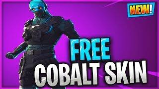 Fortnite FREE COBALT Skin Starter Pack Bundle