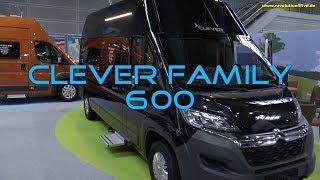 Clever Family 600 - Grundrissneuheit beim Kastenwagen