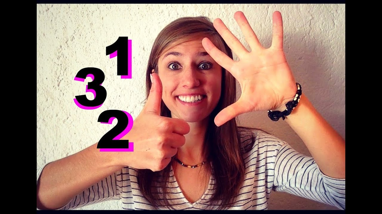 German Lesson 56 Quickly Repeat The German Numbers From 0 To 10  Youtube