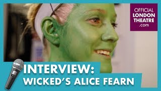 Going green for Halloween with Alice Fearn from Wicked