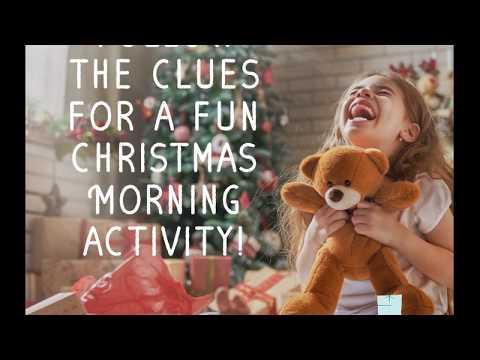 Christmas Morning Scavenger Hunt #printable