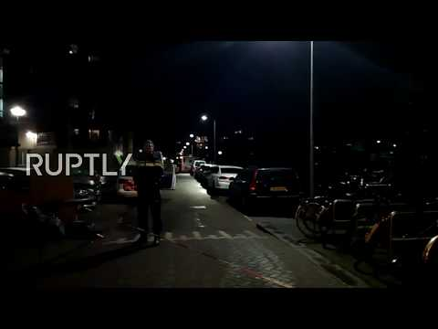 LIVE from Amsterdam's Grote Wittenburgerstraat after shooting