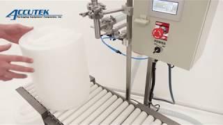Single Head Net Weight Filler - AccuWeight - Accutek Packaging Equipment Companies