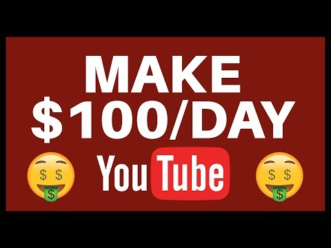 MAKE $100 PER DAY On Youtube WITHOUT Making Any Videos (Make Money Online NOW!)