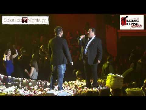[HD]Karras & Pantelidis - Gia ton idio anthropo @ Politia Live (28-6-)