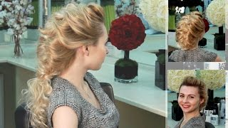 Вечерняя прическа своими руками. Обучение стилистов-парикмахеров. VIP раздел