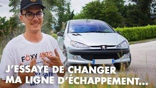 Peut-on changer sa ligne d'échappement soi-même ? - Peugeot 206 2.0 HDi