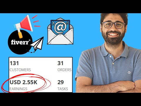How To Get Orders On Fiverr Fast With Cold Emails [Freelancing Pro Series] Part 3