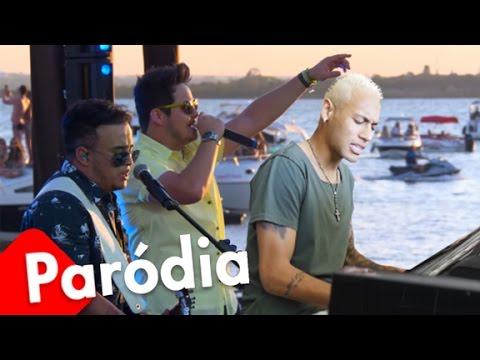 Neymar canta 'O Zúñiga me bateu' - Paródia 'O Nosso Santo Bateu' (Matheus e Kauan)