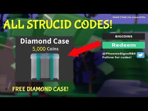 ALL *BEST* STRUCID CODES!! || Roblox Strucid - YouTube