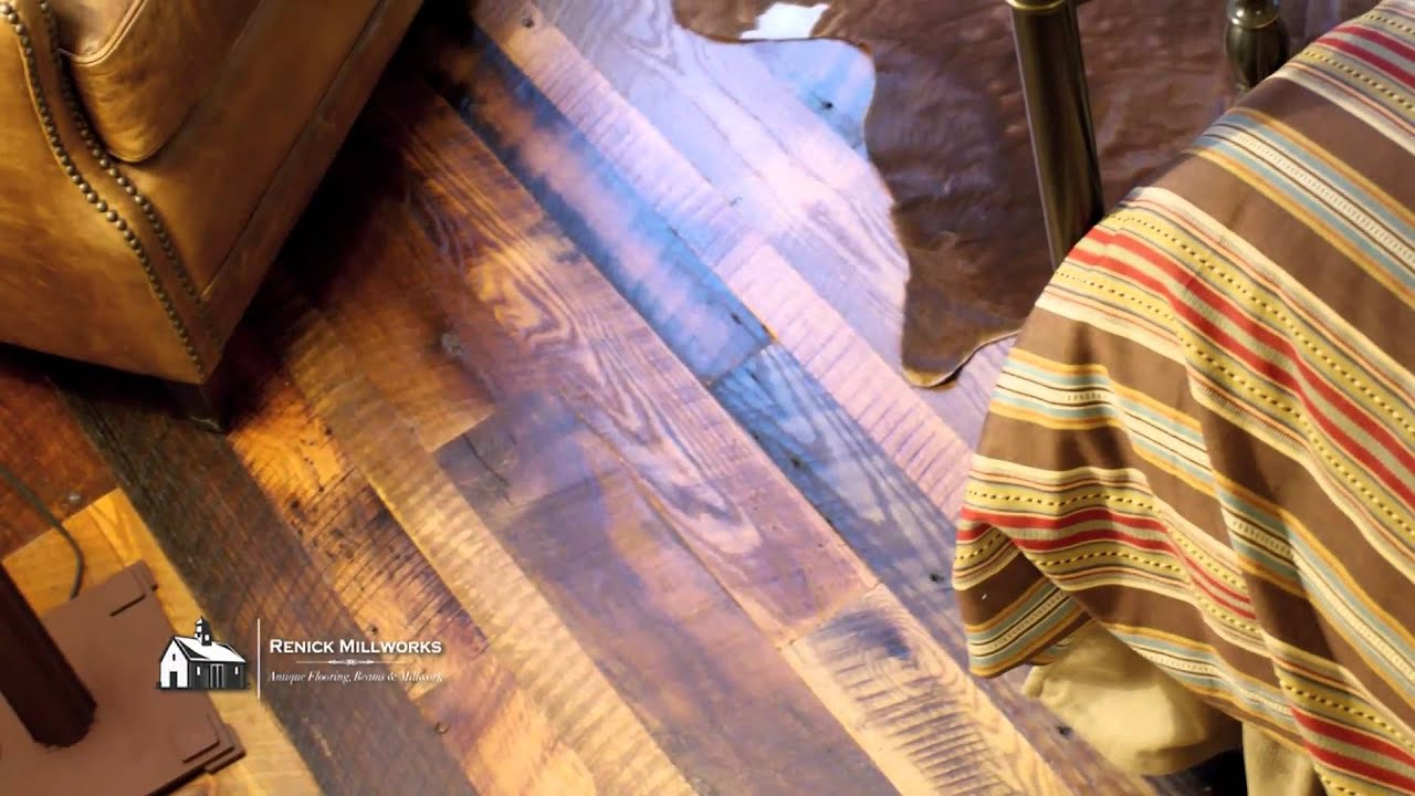 Renick Millworks   Reclaimed Hardwood Floors   Green Building   YouTube