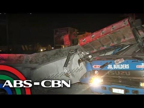 TV Patrol: Itinatayong flyover sa Cavite, gumuho