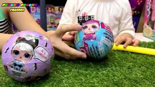 Unboxed LOL Surprise Dolls opening | Bóc Trứng Bất ngờ mới | búp bê vũ trụ baby mini