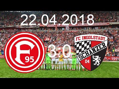 Fortuna Düsseldorf - FC Ingolstadt 04 (3:0) 22.04.2018 WIR SIND WIEDER DA ‼️‼️👏👏🙌🙌🙌
