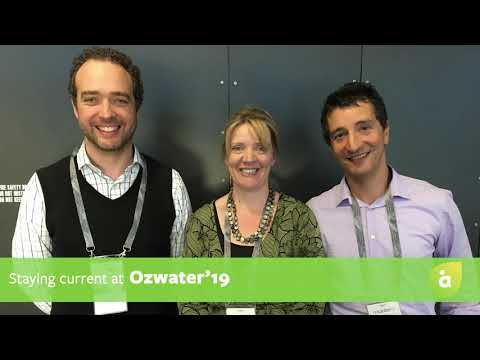 Staying current at Ozwater'19 with Stefano and Matthew