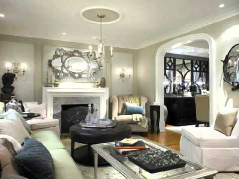 Living Rooms With Gray Walls And Brown Furniture