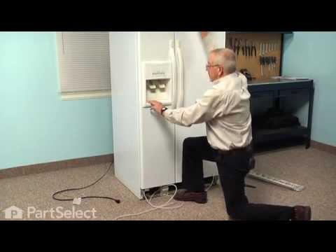 Refrigerator Repair - Replacing the Dispenser Waterline (Whirlpool Part #8201537)