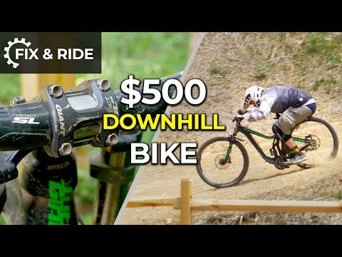 Used Downhill Bike gets Fixed, Ridden, and Named