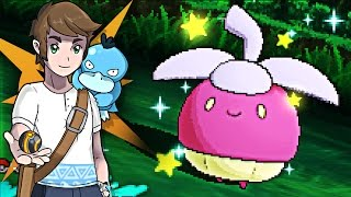 Live Shiny Bounsweet After 185 SOS Encounters - Pokemon Sun & Moon