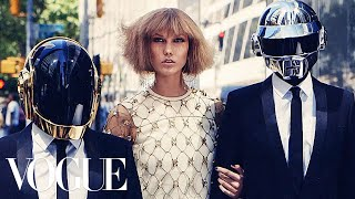 Daft Punk & Karlie Kloss Go Out In NYC | Vogue