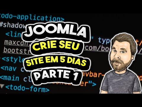 Aprenda a Criar seu Site Joomla em 5 Dias – Parte 1
