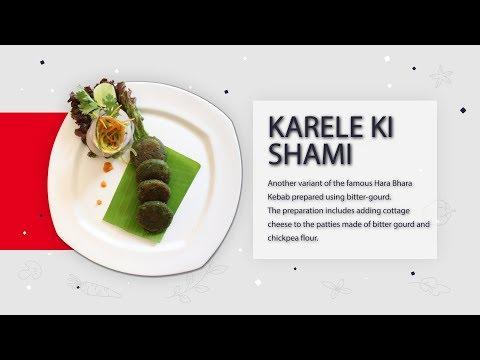 Karele Ki Shaami   Recipe Guide in English   Metropolitan Hotel, Delhi