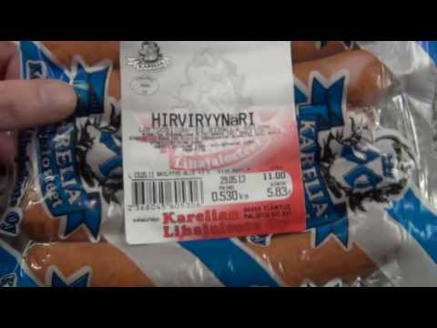 Hirviryynäri -  Moose groat sausage