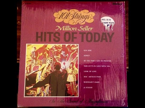 101 Strings ‎– Million Seller Hits Of Today - Full Album