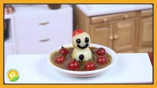 Cà ri người tuyết tí hon - Curry snowman