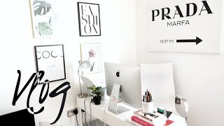 HOME TOUR REDECORATE WITH ME VLOG & HOME TOUR & SLAY IN YOUR LANE BOOK LAUNCH
