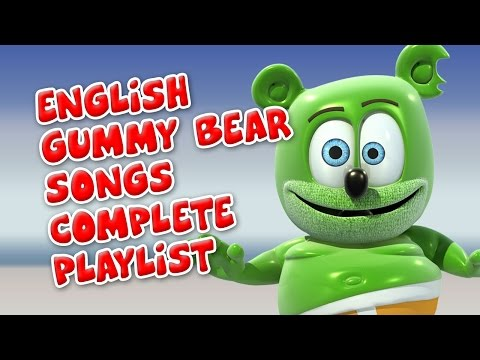 English Gummy Bear Songs Complete Playlist from YouTube · Duration:  44 minutes 24 seconds
