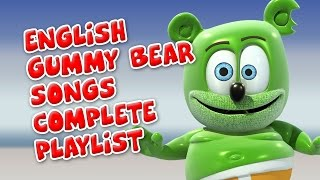 Video English Gummy Bear Songs Complete Playlist download MP3, 3GP, MP4, WEBM, AVI, FLV September 2018