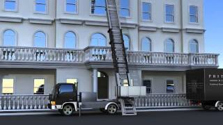Pritchards of London - Furniture Lift Hire - Removals & Storage(An overview, how Pritchards of London's dedicated furniture lifts can help you move large and bulky items, materials and pieces of furniture upstairs externally., 2014-01-29T00:58:37.000Z)
