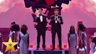 Richard and Adam captivate Wembley Arena with 'The Power of Love' | BGT: The Champions