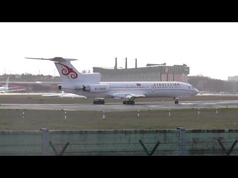 *Rare* Tupolev TU-154 ► Kyrgyzstan Government ✈ take off✈  Berlin Tegel Airport