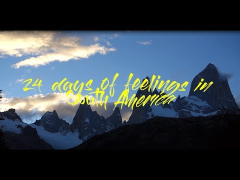 24 days of feelings in South America