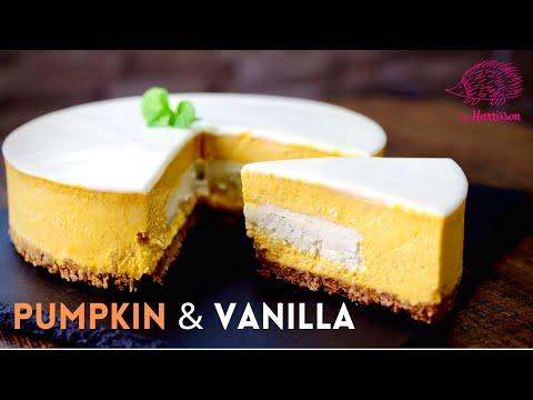 pumpkin-cheesecake-recipe-no-bake-|-カボチャゃチーズケーキ