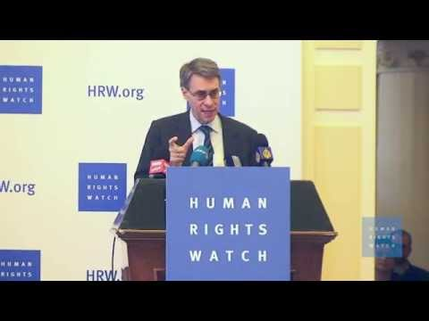 World Report 2015 News Conference