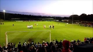 Whitehawk FC Controversially Disallowed Goal Vs Stourbridge FC - FA Cup 1st Round 2016/17