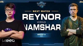 Reynor vs Namshar ZvZ - Ro16 Group A - WCS Winter Europe