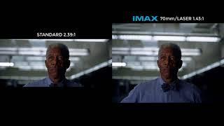 The Dark Knight — Imax 70 Mm Footage Vs Standard Footage  Ending
