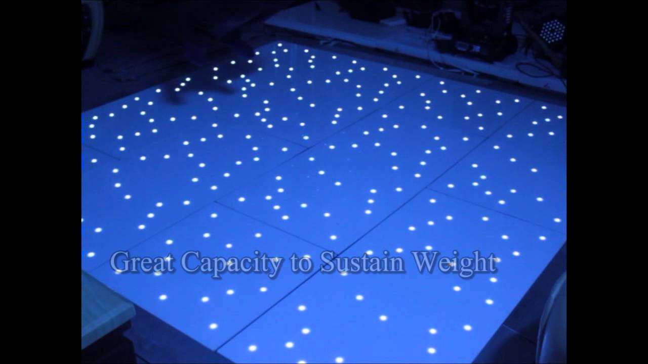 floor led lighting. dhgate waterproof led twinkling dance floor black u0026 white acrylic wood aluminum youtube led lighting k