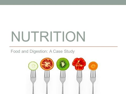 Nutrition: Food and Digestion