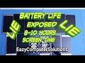 Smartphone Battery Life EXPOSED!!!  | Cheating On Screen Time | Mate 9,  LG V20, Galaxy s7 & More