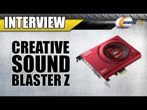 Newegg TV: Creative Sound Blaster Z-Series Audio Cards Interview
