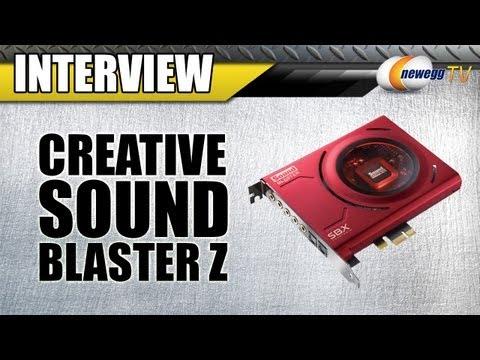 Newegg TV: Creative Sound Blaster Z-Series Audio Cards Interview