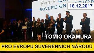 TOMIO OKAMURA /projev předsedy SPD/ Pro Evropu suverenních národů