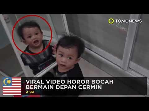 Viral Video Horor Bocah Di Depan Cermin- #tomonews #Ytcrash