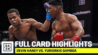 FULL CARD HIGHLIGHTS | Devin Haney vs. Yuriorkis Gamboa