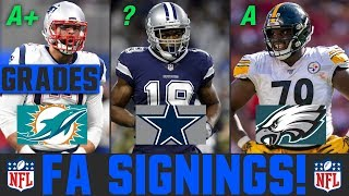 2020 NFL Free Agency Signings & News | Grading NFL Free Agency Signings
